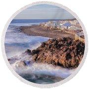 El Golfo - Lanzarote Round Beach Towel