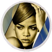 Rihanna Collection Round Beach Towel