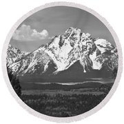 Wyoming Round Beach Towel