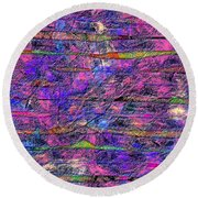 1531 Abstract Thought Round Beach Towel