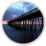 17th St. Virginia Beach, Va. Round Beach Towel