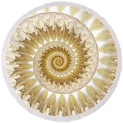 18 Karat Round Beach Towel