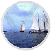 1871 Lewis R French Round Beach Towel