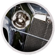 1932 Mg F1 Magna Grille -1363ac Round Beach Towel