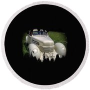1936 Cord Automobile Round Beach Towel by Thom Zehrfeld