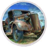 1937 Chevrolet Round Beach Towel