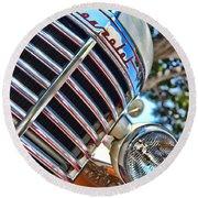 1940 Chevy Truck Round Beach Towel