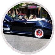 1941  Chevrolet Convertable Round Beach Towel