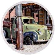 1947 Studebaker M-5 Pickup Truck Round Beach Towel