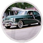 1953 Buick Special Round Beach Towel