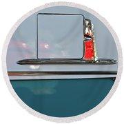 1955 Chevy Belair 2 Door Round Beach Towel