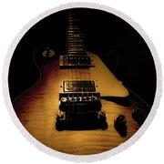 1960 Reissue Guitar Spotlight Series Round Beach Towel