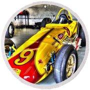 1963 Eddie Sachs Indy Car Round Beach Towel