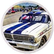1964 Ford Falcon #51  Round Beach Towel