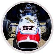 1966 Gearhardt Rear Engine V8 Round Beach Towel