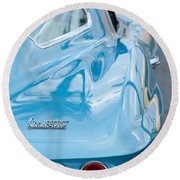 1967 Chevrolet Corvette 11 Round Beach Towel