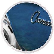 1969 Chevrolet Camaro Z28 Emblem Round Beach Towel
