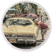 1973 Buick Riviera Round Beach Towel