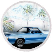 1979 Ranchero Gt 7th Generation 1977-1979 Round Beach Towel