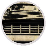 1957 Chevy Round Beach Towel by JAMART Photography