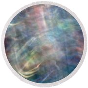 Abstract Photography Round Beach Towel