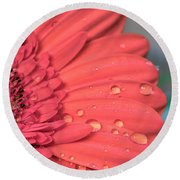 After The Rain Round Beach Towel