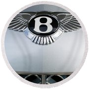 Bentley Emblem Round Beach Towel