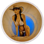 Dana Round Beach Towel