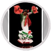 Duende Flamenco Round Beach Towel