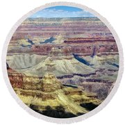 Grand Canyon Round Beach Towel by RicardMN Photography