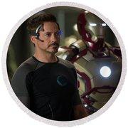 Iron Man 3 Round Beach Towel