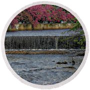 Mill River Park Round Beach Towel