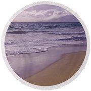 Paradise Round Beach Towel by Sharon Mau