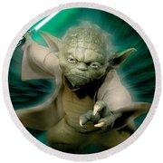 Star Wars Episode II - Attack Of The Clones 2002 Round Beach Towel