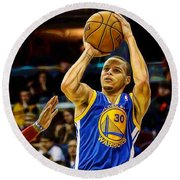 Steph Curry Collection Round Beach Towel