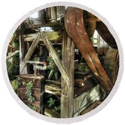 Syrup Mill Round Beach Towel