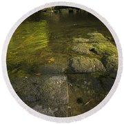 The River Swale Round Beach Towel