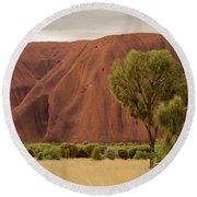 Uluru 08 Round Beach Towel