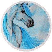 Unicorn Round Beach Towel