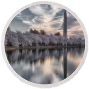 Washington Sunrise Round Beach Towel