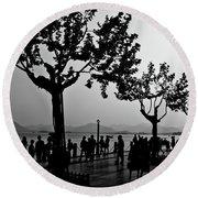 West Lake, Hangzhou Round Beach Towel