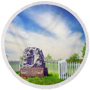 Wisconsin Sharpshooters Round Beach Towel
