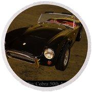 2012 Shelby Cobra 50th Anniversary  Round Beach Towel