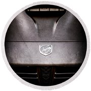 2014 Dodge Viper Hood Emblem -1066ac Round Beach Towel
