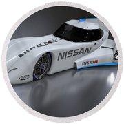 2014 Nissan Zeod Rc 3 Round Beach Towel