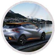 2015 Nissan Sway Concept 3  1 Round Beach Towel