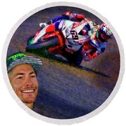 2016 Fim Superbike Nicky Hayden Round Beach Towel
