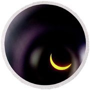 2017 Eclipse Round Beach Towel