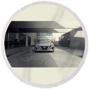 2017 Nissan Vmotion 2 Concept 4 Round Beach Towel