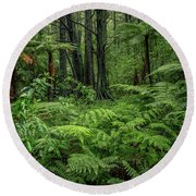 Round Beach Towel featuring the photograph Jungle by Les Cunliffe